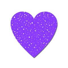 Dots Pattern Heart Magnet by ValentinaDesign