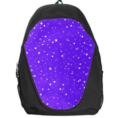 Dots Pattern Backpack Bag by ValentinaDesign