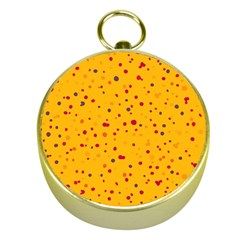 Dots Pattern Gold Compasses by ValentinaDesign