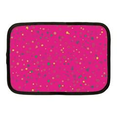 Dots Pattern Netbook Case (medium)  by ValentinaDesign