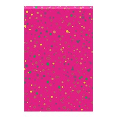 Dots Pattern Shower Curtain 48  X 72  (small)  by ValentinaDesign