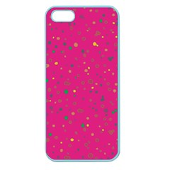 Dots Pattern Apple Seamless Iphone 5 Case (color) by ValentinaDesign