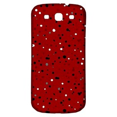 Dots Pattern Samsung Galaxy S3 S Iii Classic Hardshell Back Case by ValentinaDesign