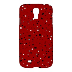 Dots Pattern Samsung Galaxy S4 I9500/i9505 Hardshell Case by ValentinaDesign