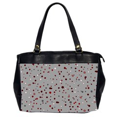 Dots Pattern Office Handbags (2 Sides)  by ValentinaDesign