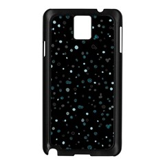 Dots Pattern Samsung Galaxy Note 3 N9005 Case (black) by ValentinaDesign