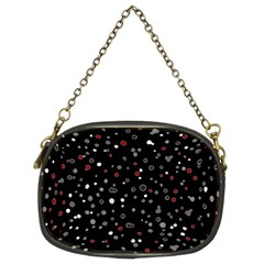 Dots Pattern Chain Purses (two Sides)  by ValentinaDesign