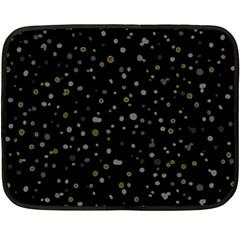 Dots Pattern Double Sided Fleece Blanket (mini)