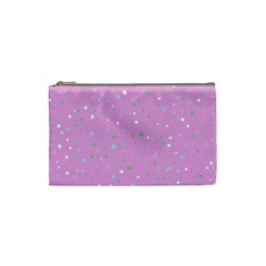 Dots Pattern Cosmetic Bag (small)  by ValentinaDesign