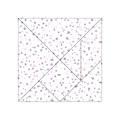 Dots Pattern Acrylic Tangram Puzzle (4  X 4 ) by ValentinaDesign