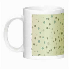 Dots Pattern Night Luminous Mugs by ValentinaDesign