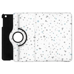 Dots Pattern Apple Ipad Mini Flip 360 Case by ValentinaDesign