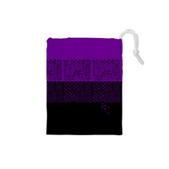 Abstract Art  Drawstring Pouches (small)  by ValentinaDesign