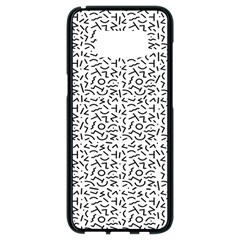 Abstract Art  Samsung Galaxy S8 Black Seamless Case