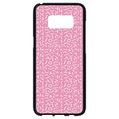 Abstract Art  Samsung Galaxy S8 Black Seamless Case by ValentinaDesign