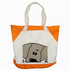 Peeping Weimaraner Accent Tote Bag by TailWags