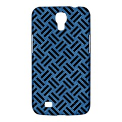 Woven2 Black Marble & Blue Colored Pencil (r) Samsung Galaxy Mega 6 3  I9200 Hardshell Case by trendistuff