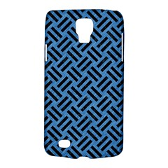 Woven2 Black Marble & Blue Colored Pencil (r) Samsung Galaxy S4 Active (i9295) Hardshell Case by trendistuff