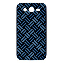 Woven2 Black Marble & Blue Colored Pencil Samsung Galaxy Mega 5 8 I9152 Hardshell Case  by trendistuff