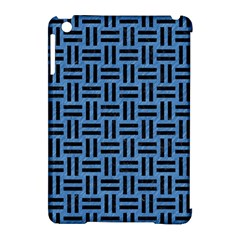 Woven1 Black Marble & Blue Colored Pencil (r) Apple Ipad Mini Hardshell Case (compatible With Smart Cover) by trendistuff