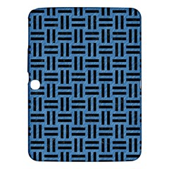 Woven1 Black Marble & Blue Colored Pencil (r) Samsung Galaxy Tab 3 (10 1 ) P5200 Hardshell Case  by trendistuff