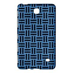 Woven1 Black Marble & Blue Colored Pencil (r) Samsung Galaxy Tab 4 (7 ) Hardshell Case  by trendistuff