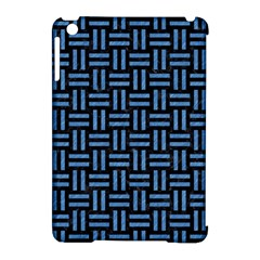Woven1 Black Marble & Blue Colored Pencil Apple Ipad Mini Hardshell Case (compatible With Smart Cover) by trendistuff