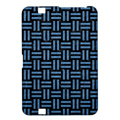 Woven1 Black Marble & Blue Colored Pencil Kindle Fire Hd 8 9  Hardshell Case by trendistuff