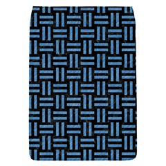 Woven1 Black Marble & Blue Colored Pencil Removable Flap Cover (s) by trendistuff