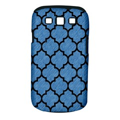 Tile1 Black Marble & Blue Colored Pencil (r) Samsung Galaxy S Iii Classic Hardshell Case (pc+silicone) by trendistuff