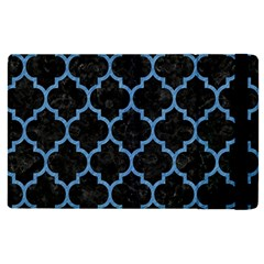 Tile1 Black Marble & Blue Colored Pencil Apple Ipad Pro 9 7   Flip Case by trendistuff
