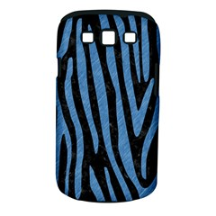 Skin4 Black Marble & Blue Colored Pencil (r) Samsung Galaxy S Iii Classic Hardshell Case (pc+silicone) by trendistuff