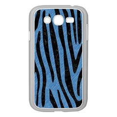Skin4 Black Marble & Blue Colored Pencil Samsung Galaxy Grand Duos I9082 Case (white) by trendistuff