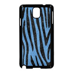 Skin4 Black Marble & Blue Colored Pencil Samsung Galaxy Note 3 Neo Hardshell Case (black) by trendistuff