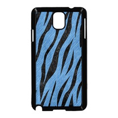 Skin3 Black Marble & Blue Colored Pencil (r) Samsung Galaxy Note 3 Neo Hardshell Case (black) by trendistuff