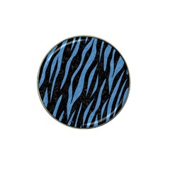 Skin3 Black Marble & Blue Colored Pencil Hat Clip Ball Marker (10 Pack) by trendistuff