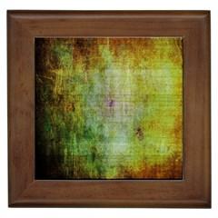 Grunge Texture               Framed Tile by LalyLauraFLM