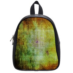 Grunge Texture               School Bag (small) by LalyLauraFLM