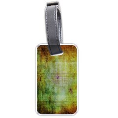 Grunge Texture               Luggage Tag (one Side) by LalyLauraFLM