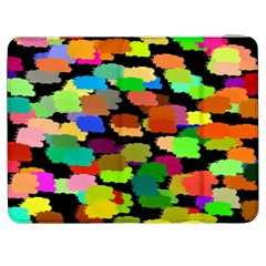 Colorful Paint On A Black Background           Htc One M7 Hardshell Case by LalyLauraFLM