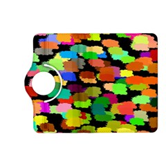 Colorful paint on a black background           Samsung Galaxy Note 3 Soft Edge Hardshell Case by LalyLauraFLM