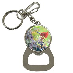 Woodpecker At Forest Pecking Tree, Patagonia, Argentina Button Necklaces by dflcprints