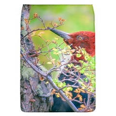Woodpecker At Forest Pecking Tree, Patagonia, Argentina Flap Covers (l)  by dflcprints