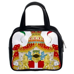 Coat Of Arms Of The Kingdom Of Italy Classic Handbags (2 Sides) by abbeyz71