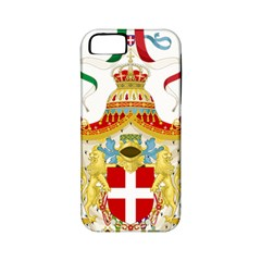 Coat Of Arms Of The Kingdom Of Italy Apple Iphone 5 Classic Hardshell Case (pc+silicone) by abbeyz71