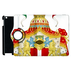 Coat Of Arms Of The Kingdom Of Italy Apple Ipad 2 Flip 360 Case by abbeyz71