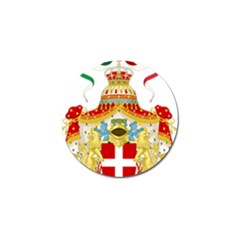 Coat Of Arms Of The Kingdom Of Italy Golf Ball Marker (4 Pack) by abbeyz71
