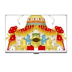 Coat Of Arms Of The Kingdom Of Italy Business Card Holders by abbeyz71