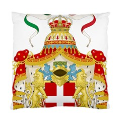Coat Of Arms Of The Kingdom Of Italy Standard Cushion Case (two Sides) by abbeyz71