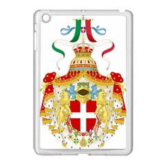 Coat Of Arms Of The Kingdom Of Italy Apple Ipad Mini Case (white) by abbeyz71